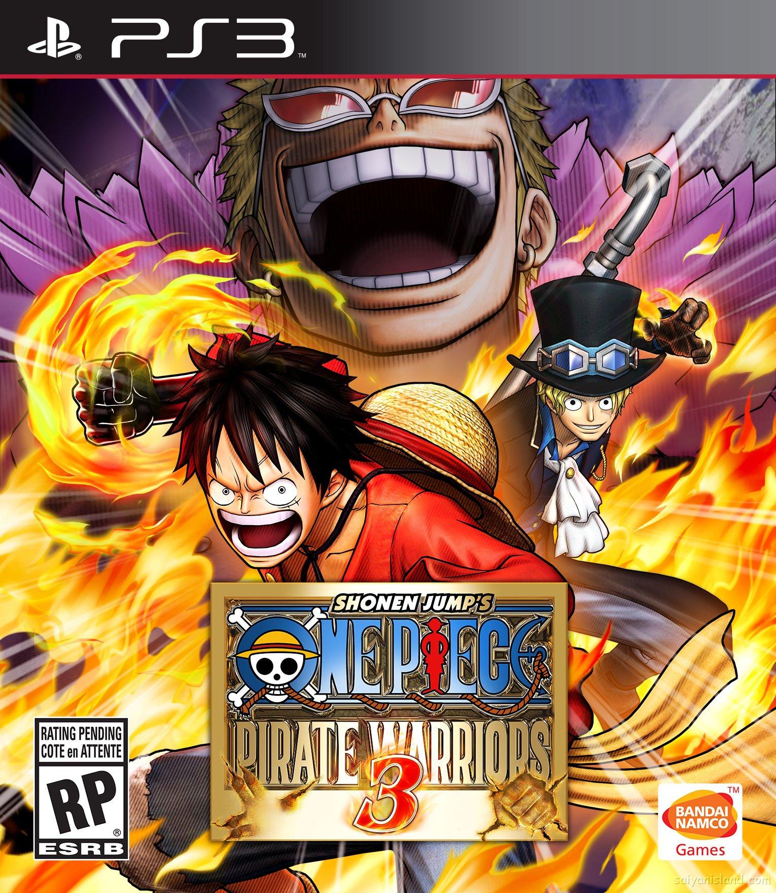Kết quả hình ảnh cho One Piece Pirate Warriors 3 cover ps3