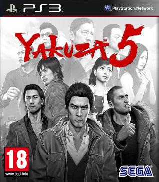 Kết quả hình ảnh cho Yakuza 5 cover ps3