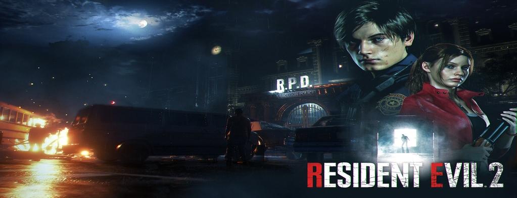 Resident Evil 2 Banner (Copy)
