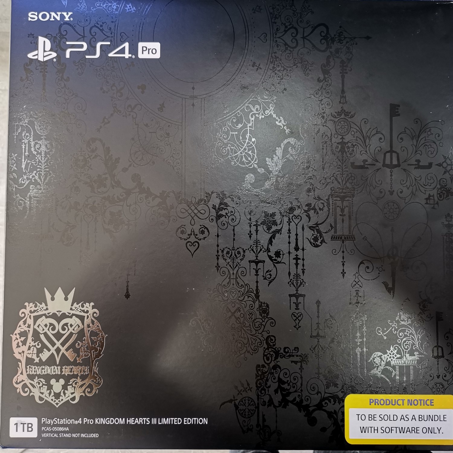 limited edition ps4 pro kingdom hearts